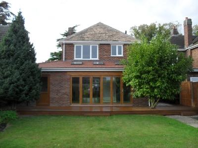 Jenny McIntee 1930's house Open Plan Living in Spalding